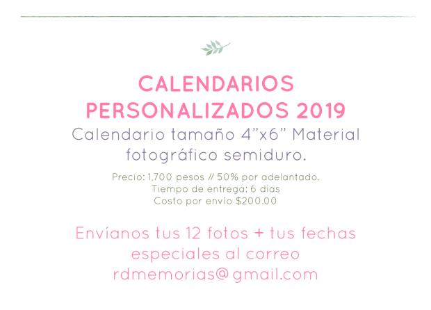 calendarios-2019